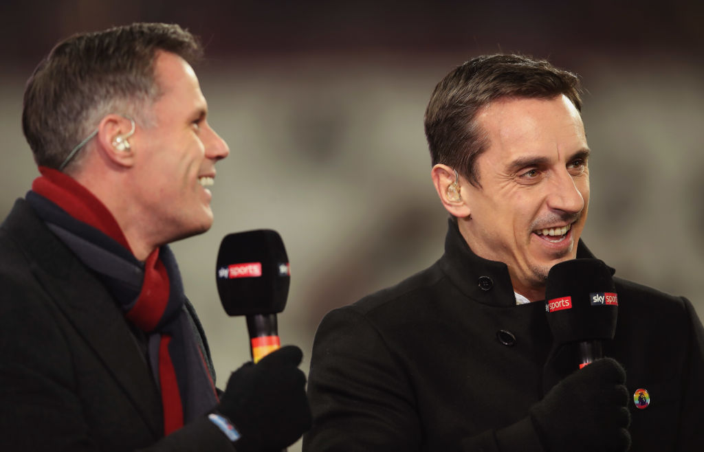Gary Neville and Jamie Carragher agree on which teams will finish in Premier League top four