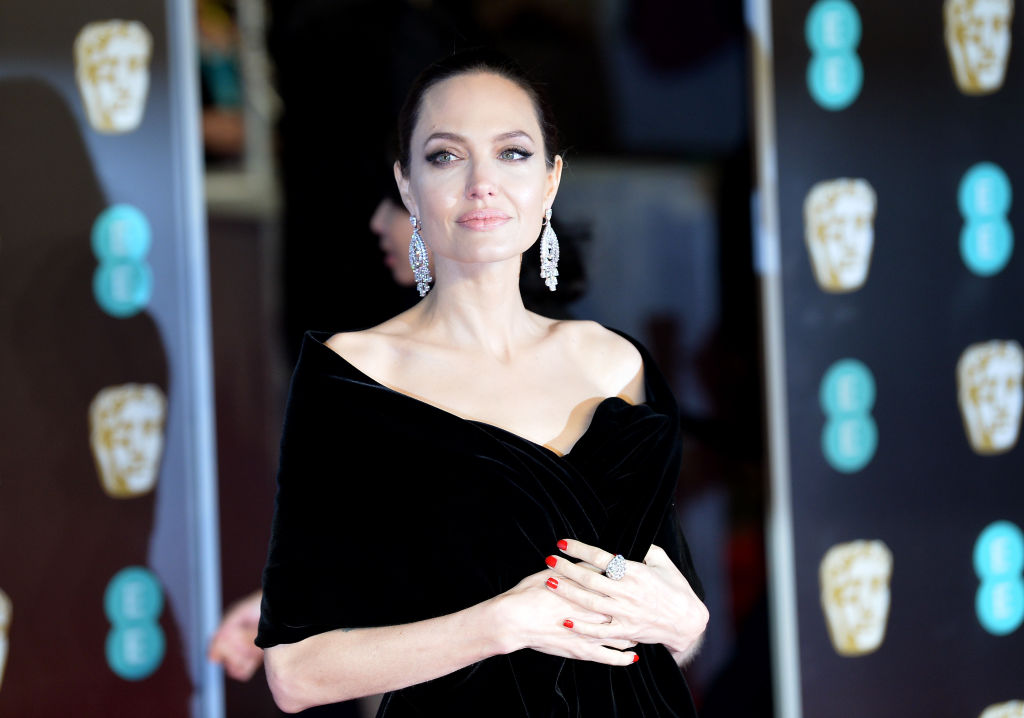 Angelina Jolie at BAFTAs
