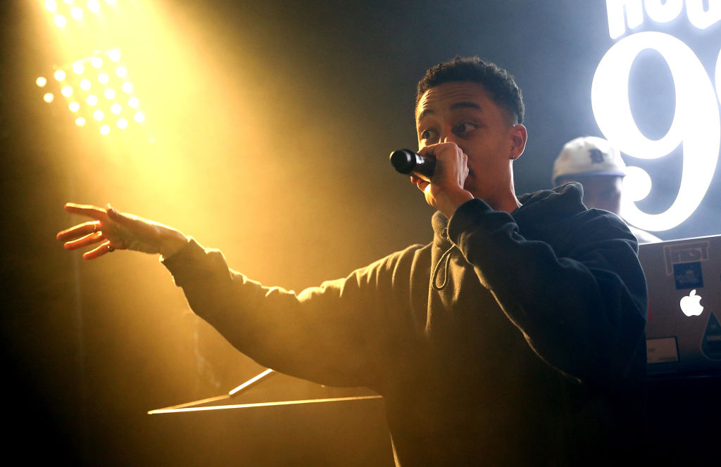 Loyle Carner is supporting his family after his stepfather died (Picture: Darren Gerrish/WireImage for HOUSE 99 by David Beckham)