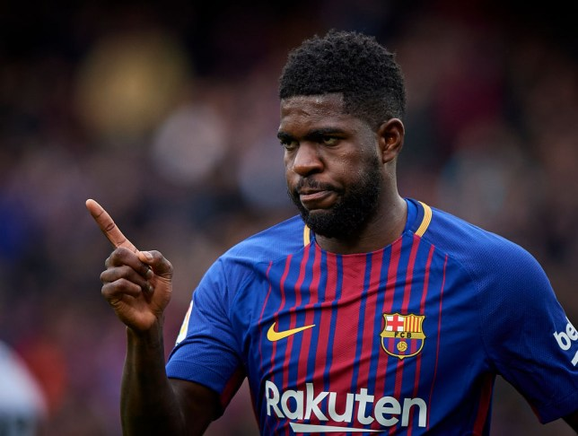 Barcelona defender Samuel Umtiti is wanted by Arsenal