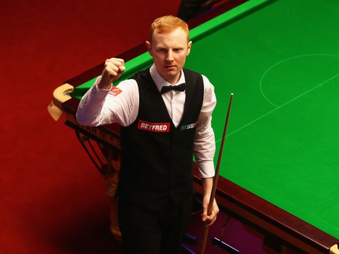 Anthony McGill reacts to epic Snooker World Championship qualifying comeback from 7-2 down
