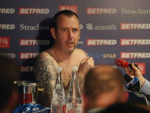 Mark Williams promises naked gymnastics if he wins the Snooker World Championship again