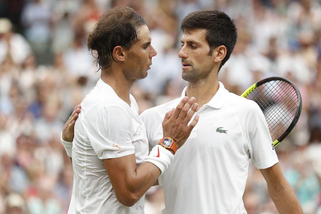 Nadal was beaten by Djokovic in last year's Wimbledon semi-final