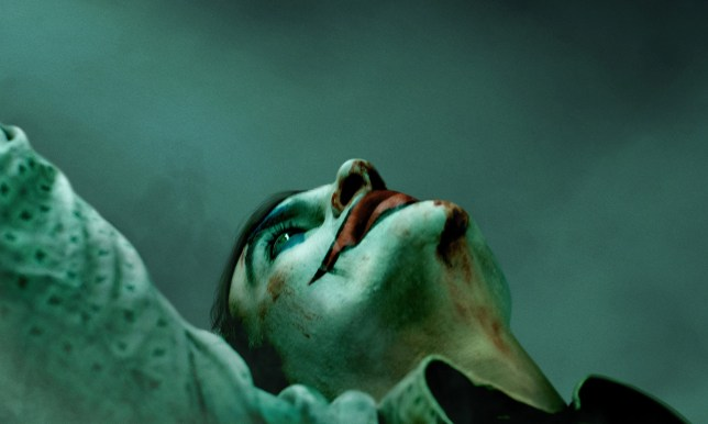 Joaquin Phoenix in the Joker poster