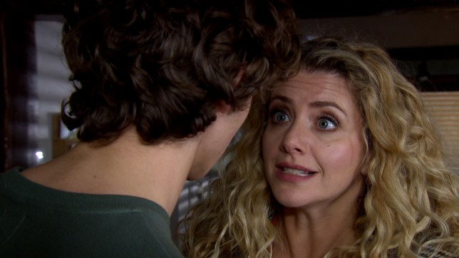 Maya shocks Jacob in Emmerdale