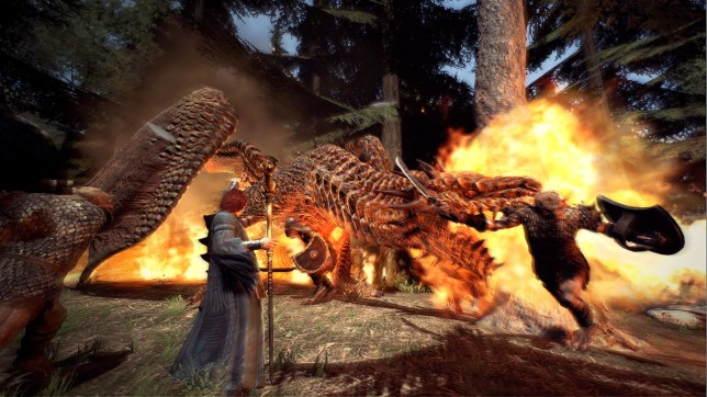 Dragon's Dogma: Dark Arisen (NS) - news of a sequel is dragon on