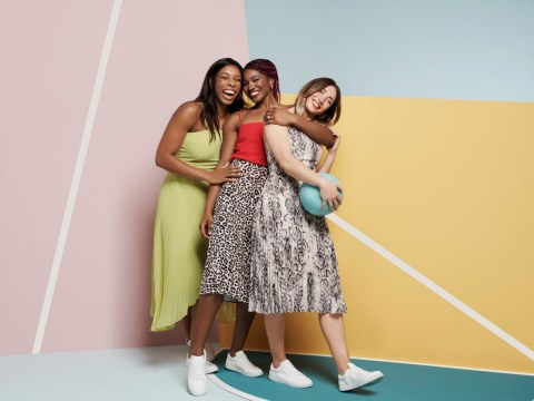 Oasis launches campaign with England Netball stars to celebrate women in sport