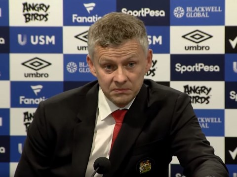 Ole Gunnar Solskjaer reveals worrying reaction from Manchester United players after Everton loss