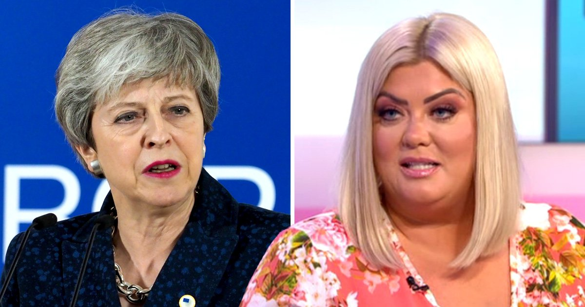 Piers Morgan delighted as Gemma Collins offers to help Theresa May with Brexit