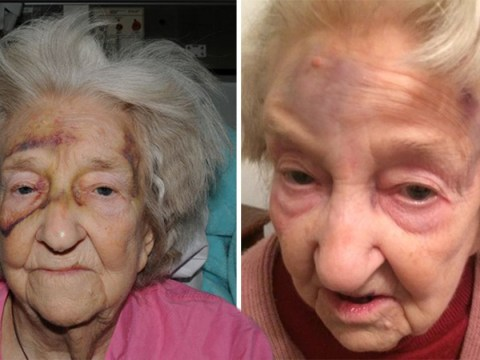 Hunt still on for thug who beat gran, 72, so badly she died two months later