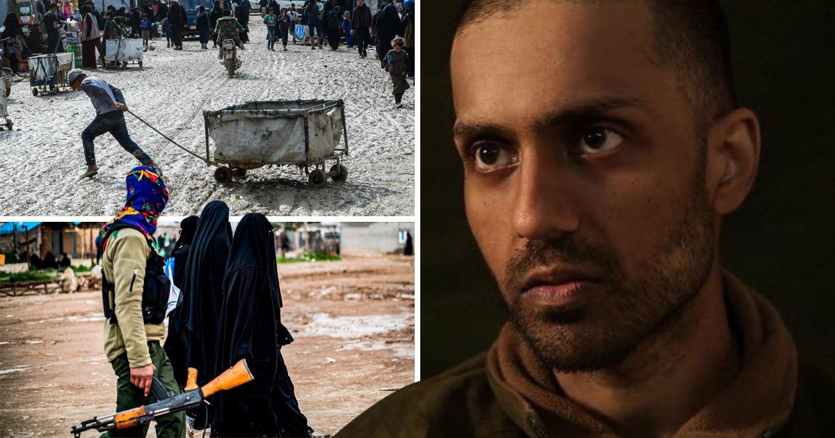 Brit Isis fighter dubbed 'Hungry Hamza' for saying he missed KFC is held in Syrian prison