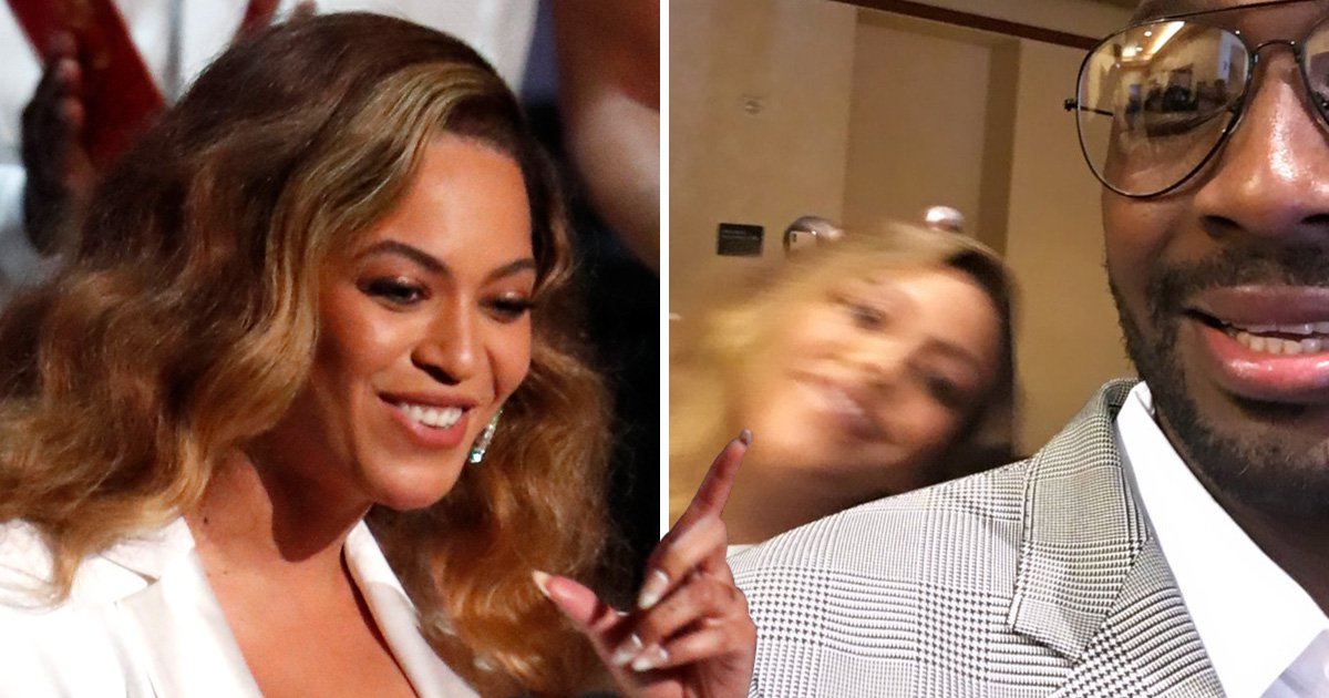 Beyonce proves she's queen by photobombing fan at NAACP Image Awards