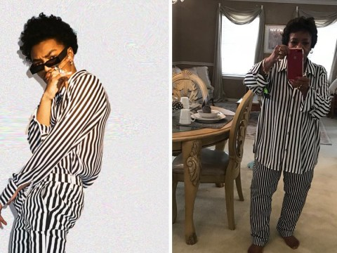 Cute grandma buys matching outfit with grandson and they both look amazing