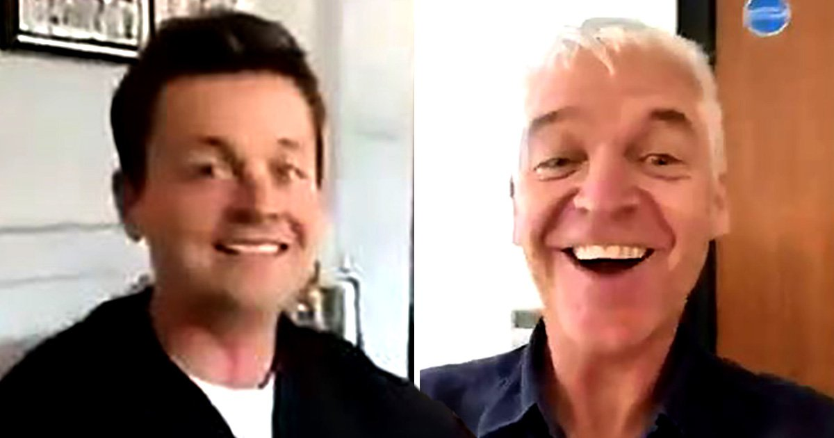 Phillip Schofield enjoys boozy birthday lunch with Declan Donnelly but Ant McPartlin was nowhere to be seen