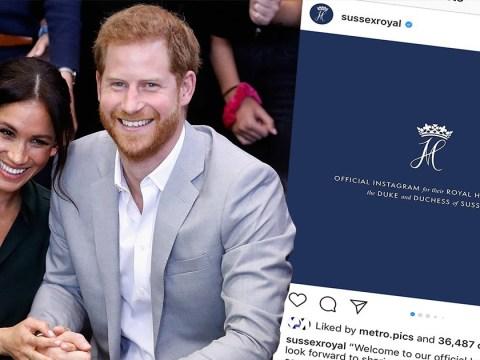 Meghan Markle is finally back on Instagram