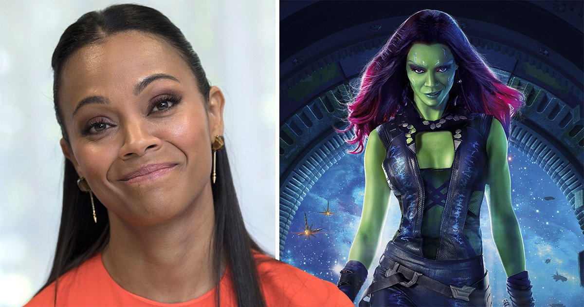 Avengers' Zoe Saldana gets meme treatment as Gamora's makeup routine brings laughs