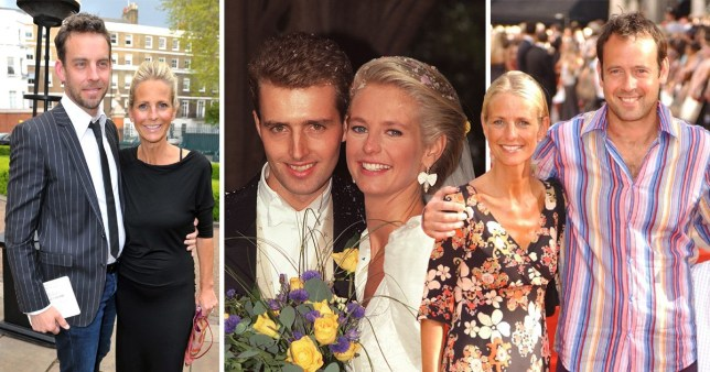 pictures of Ulrika Jonsson with John Turnbull, Lance Gerrard-Wright and Brian Monet