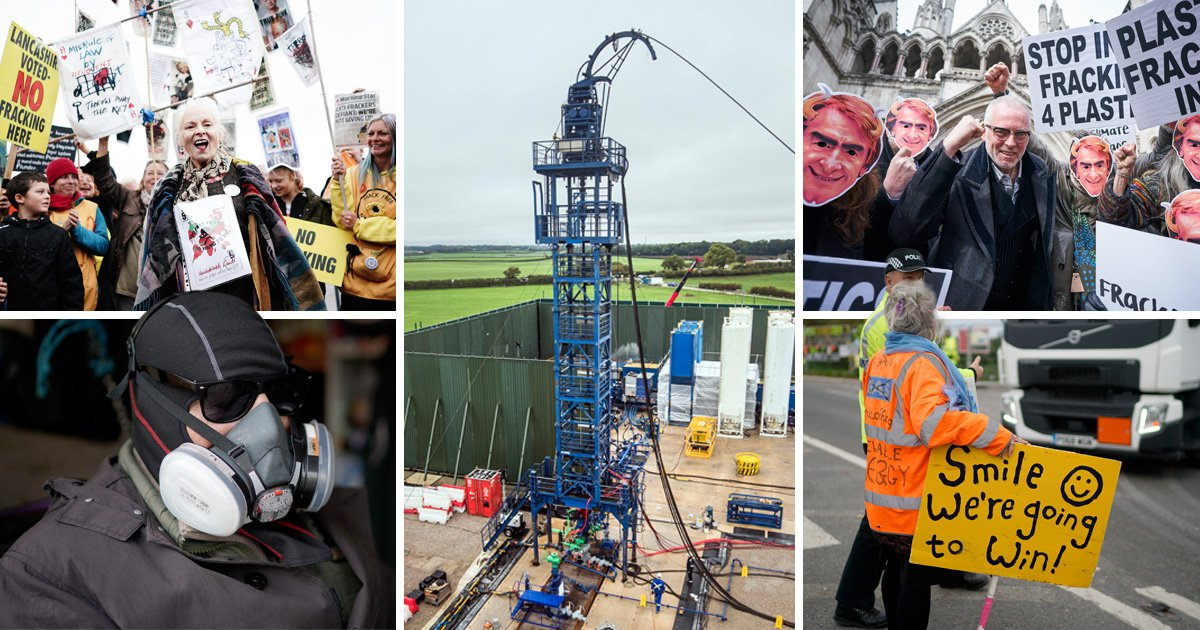 Victory for fracking protesters against energy giant