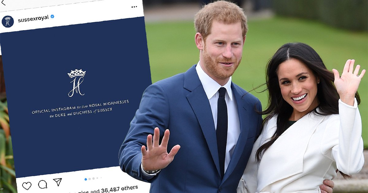 Meghan and Harry's Instagram breaks world record within hours
