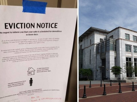 Jewish students find eviction notices taped to their doors