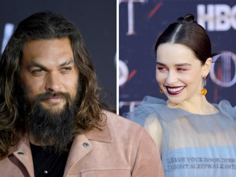 Jason Momoa opens up on Game Of Thrones cast 'almost losing Emilia Clarke' after brain aneurysms
