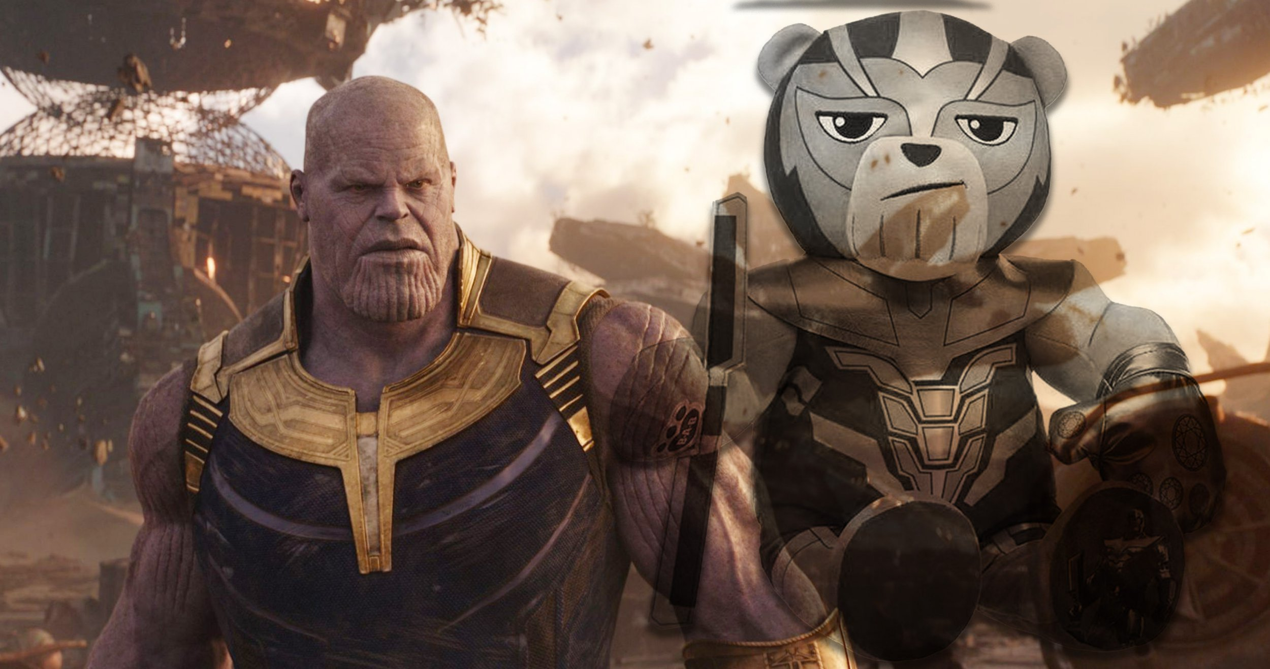 Has this Thanos teddy bear spoiled Avengers: Endgame?