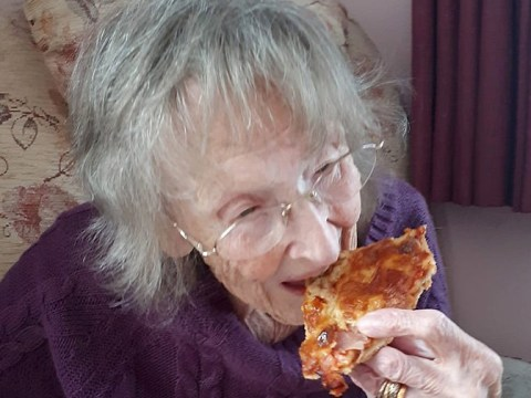Gran, 94, eats pizza for first time since Mussolini held husband hostage