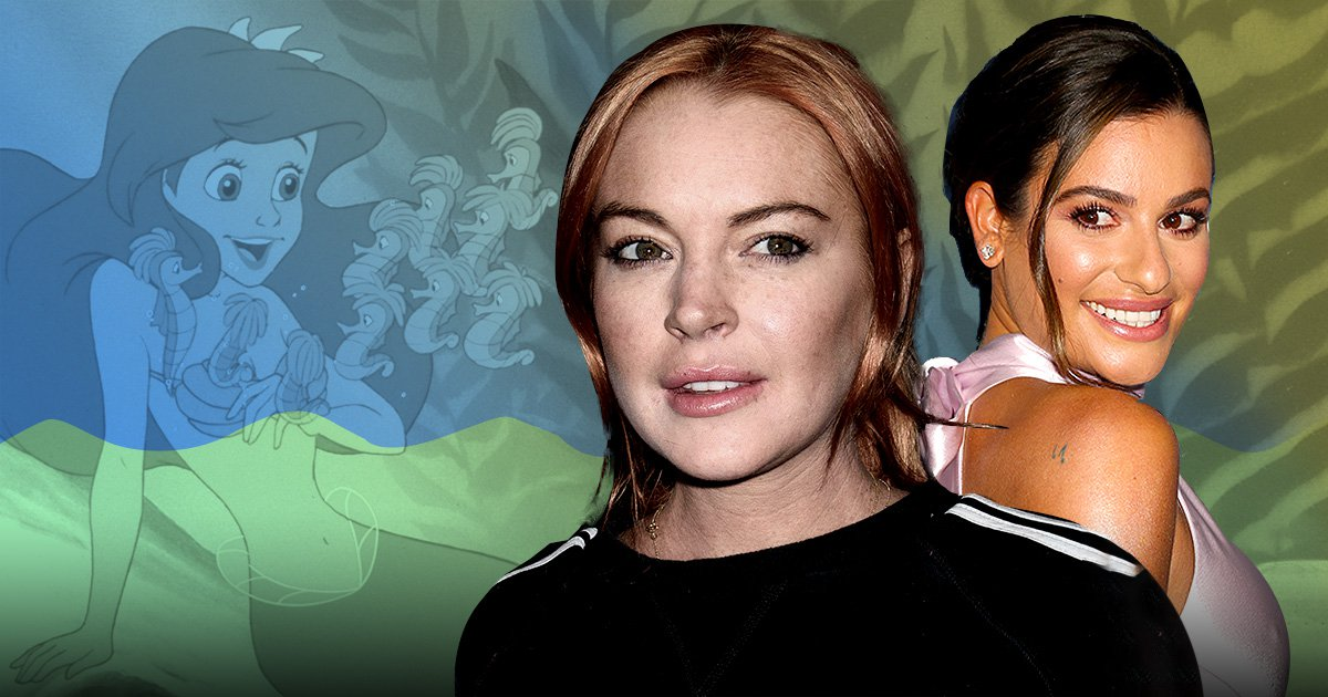 Lindsay Lohan is not happy with Lea Michele bagging The Little Mermaid role