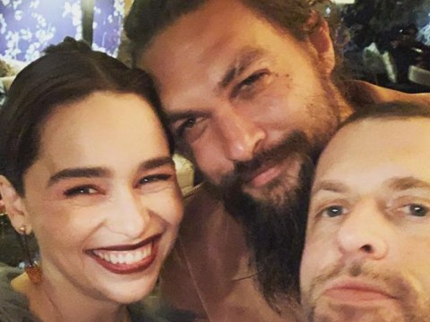 Emilia Clarke shows us just how lit GOT after party was as she parties with Jason Momoa