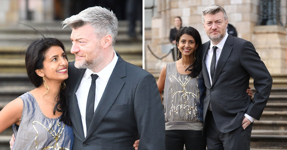 Charlie Brooker and Konnie Huq have the look of love on rare date night at Netflix's Our Planet premiere