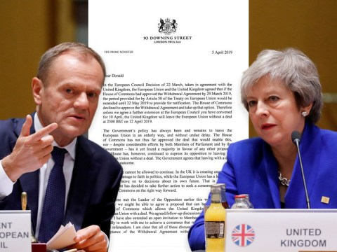 Theresa May asks for Brexit delay until June 30 as EU considers 'flextension'