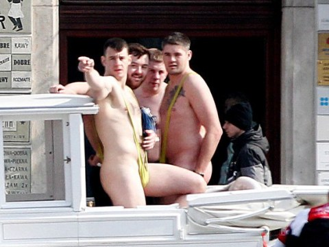 Hunt for tourists who went through Krakow in nothing but mankinis
