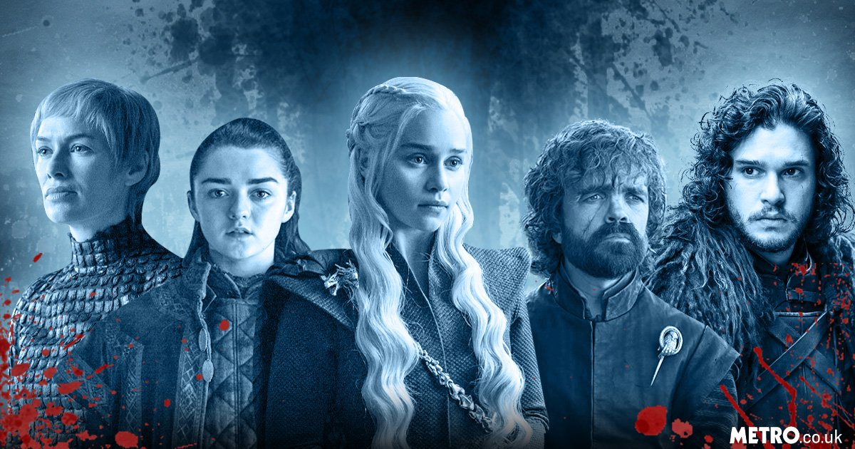 Arya Stark, Jon Snow, Emilia Clarke ,Cersei Lannister and Tyrion Lannister
