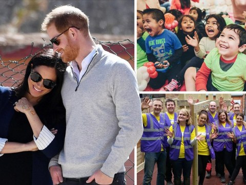Meghan Markle and Prince Harry share romantic picture with message for fans
