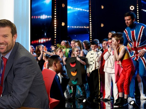 Who is Flakefleet Primary School headteacher Dave McPartlin who won a Golden Buzzer with his school on BGT?