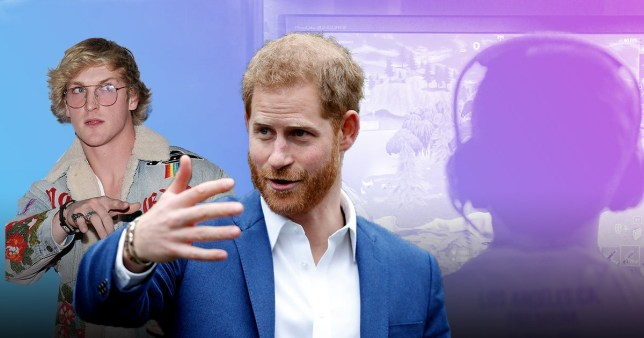 Logan Paul reckons Prince Harry has a point over banning