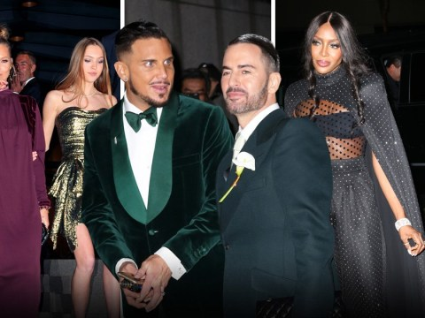 Naomi Campbell and Rita Ora among celebs glamming up for Marc Jacobs' wedding