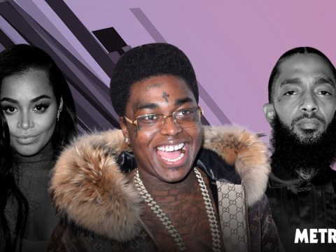 Kodak Black responds to backlash over plans to hit on Nipsey Hussle's grieving girlfriend Lauren London: 'I'll give her a year'