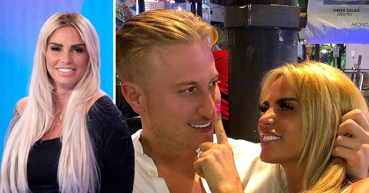 Katie Price admits she faked engagement to Kris Boyson 'on purpose'