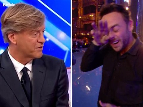 Richard Madeley tells Britain's Got Talent golden buzzer act to send Ant McPartlin his love