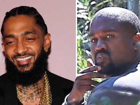Kanye West pays tribute to late Nipsey Hussle during Sunday Service performance