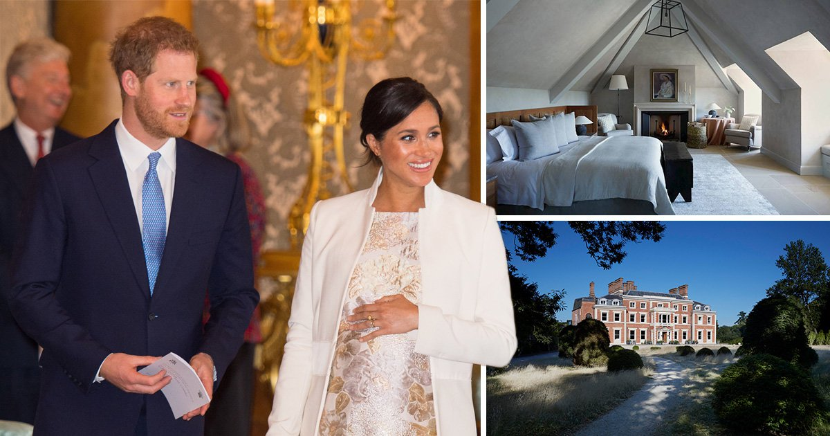 Inside Prince Harry and Meghan Markle's luxury '£33,000 babymoon hotel Heckfield Place'
