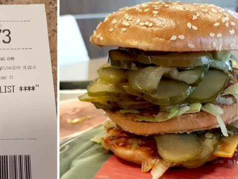 Remember the McDonald's McPickle April Fool? Someone has figured out how to order it