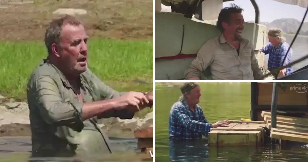 The Grand Tour perfectly captures why you should never trust Jeremy Clarkson and James May in an emergency