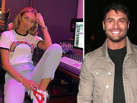 Megan McKenna returns to Instagram with studio picture from Nashville following ex Mike Thalassitis' death