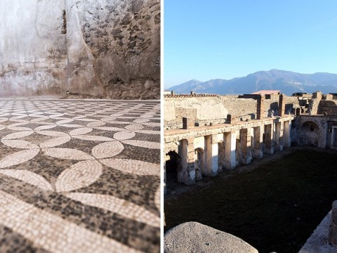 British woman arrested for 'stealing Pompeii mosaic tiles' as souvenirs