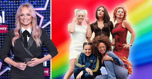 Emma Bunton says Spice Girls changed song lyrics to be more LGBT-inclusive