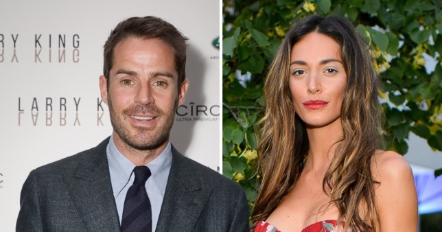 Comp of Jamie Redknapp and Lizzie Bowden