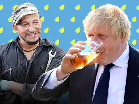 TV host Fuzz Townshend claims he stuck his Johnson in Boris's pint