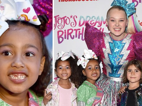 YouTuber JoJo Siwa invites North West to sweet 16th and we guess they're best friends now
